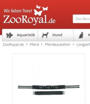Kerbl Longiergurt Nylon Zooroyal