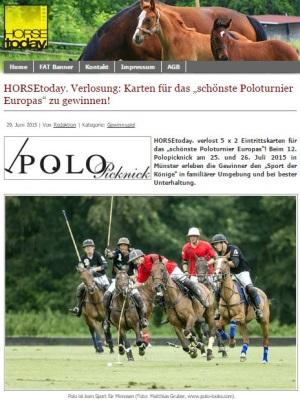Polo Picknick Gewinnspiel HORSEtoday