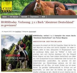 HORSEtoday Gewinnspiel Abenteuer Deutschland