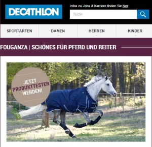 DECATHLON Produkttester Fouganza Regendecke