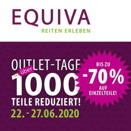EQUIVA Outlet-Tage – Über 1.000 Teile reduziert