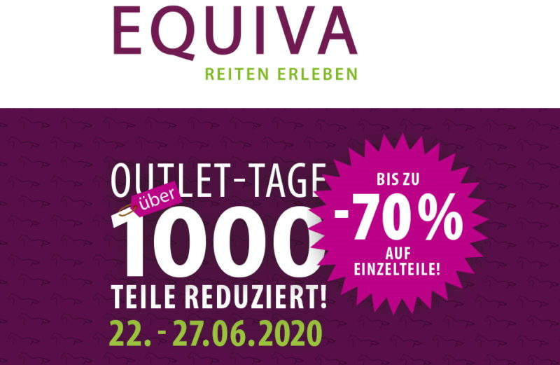 EQUIVA Outlet-Tage 2020