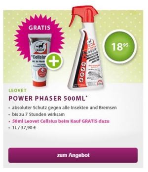 EQUIVA Power Phaser + Cellsius gratis