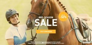 Mid-Season-Sale Horze - 50 prozent