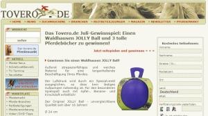 Tovero Gewinnspiel Juli Jolly Ball