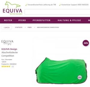 Grüne Abschitzdecke von EQUIVA