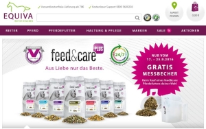 feed & care bei EQUIVA Messbecher gratis