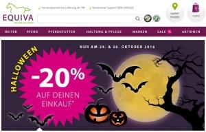 EQUIVA Gutschein Halloween