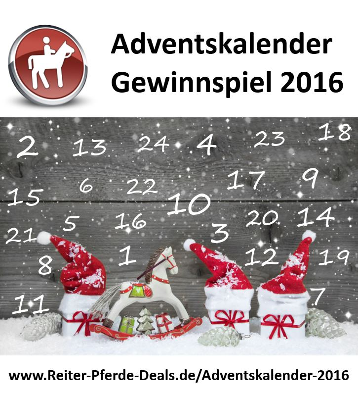 adventskalender reitsport archive reiter pferde deals. Black Bedroom Furniture Sets. Home Design Ideas