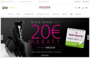 BLACK FRIDAY Rabattcode EQUIVA 20 Euro