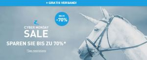 Cyber Monday bei Horze - 70 % Rabatt