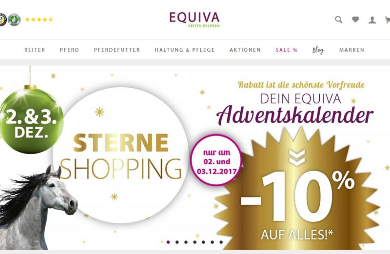 EQUIVA Sterneshopping 10 % Rabatt am 1. Advent