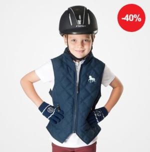 Kinder Reitweste Happy-Go-Lucky – 40 % reduziert – NUR 16,17 €
