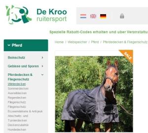 schwarze Outdoordecke De Kroo