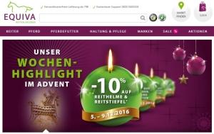 EQUIVA Wochen-Highlight im Advent Reithelme und Stiefel