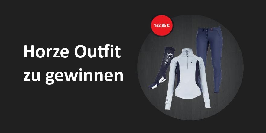 Horze Outfit zu gewinnen in der Newsletter Verlosung