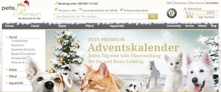 pets Premium Adventskalender 2016
