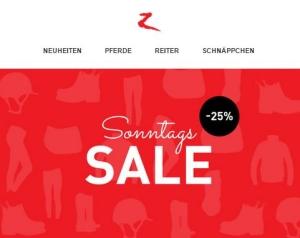 Horze Sonntags Sale 25 % Rabatt