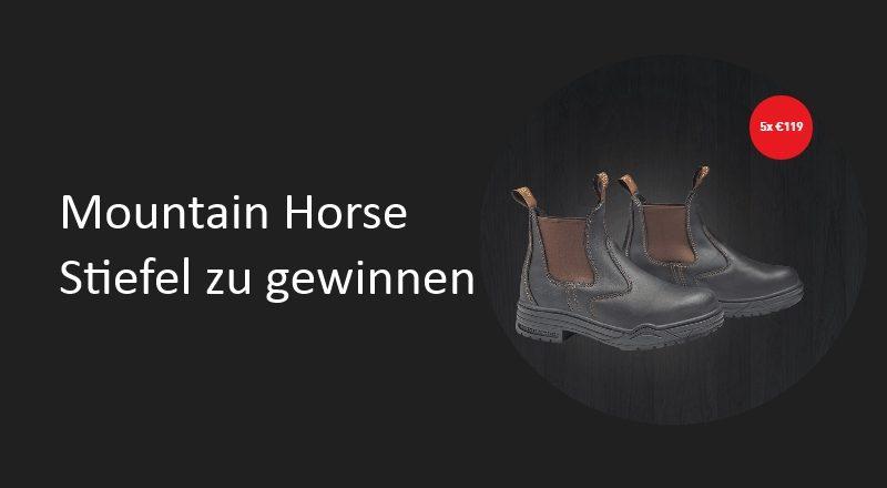 Mountain Horse Verlosung Stiefel