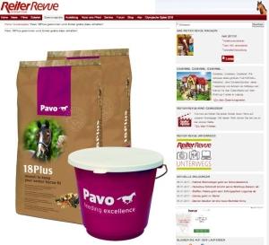 Pavo Pferdefutter bei Reiter Revue zu gewinnen