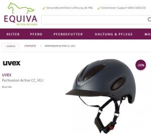 Uvex Perfexxion Reithelm CC VG1