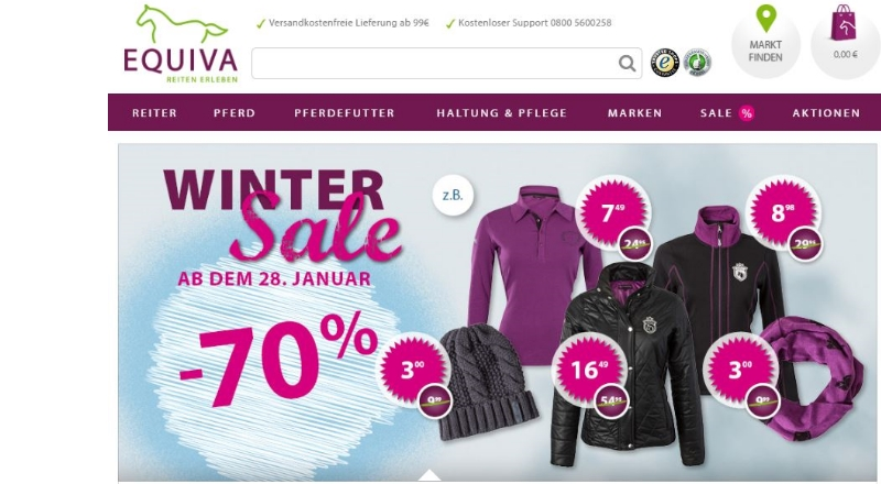 EQUIVA Winter Sale