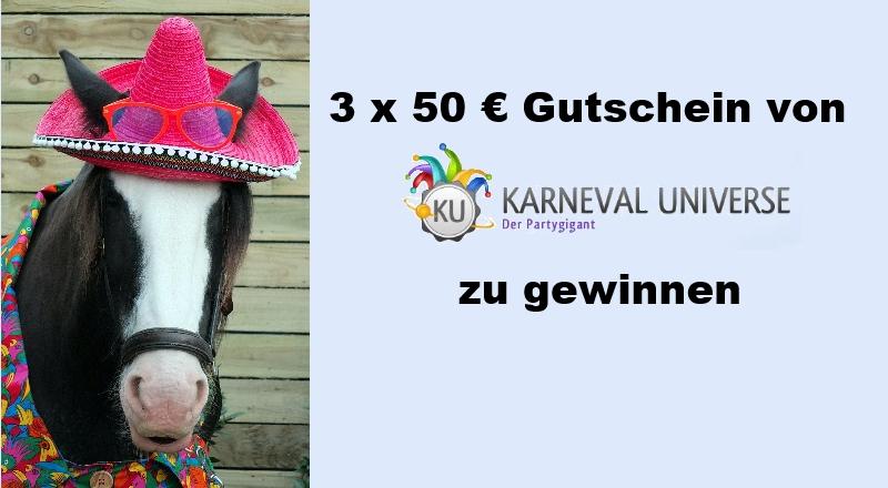 Fotowettbewerb zum Thema Karnevalsreiten