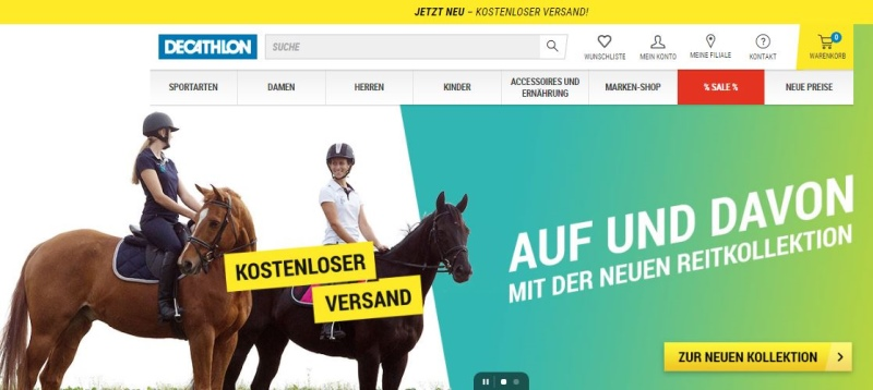 Neue Reitkollektion DECATHLON
