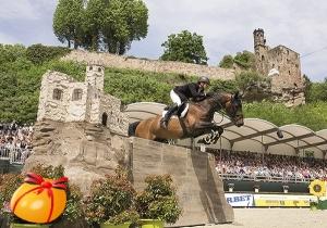 Markus Brinkmann mit Pikeur Dylon beim Hardenberg Burgturnier