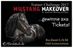Pferdekult Gewinnspiel Mustang Makeover 2017