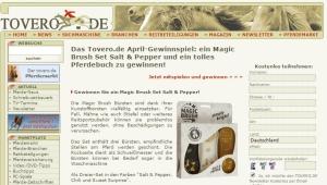 Tovero Gewinnspiel April 2017