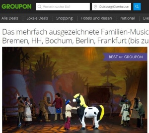 Yakari Musical bei Groupon