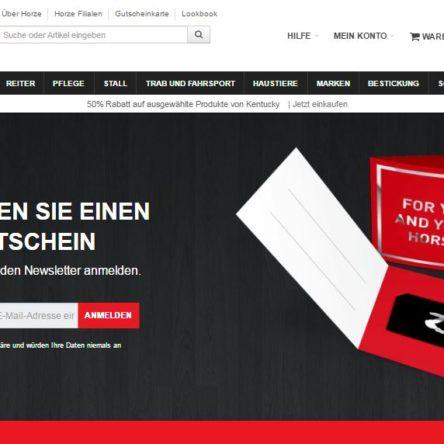 Horze Newsletter-Verlosung im April: 500 € Gutschein zu gewinnen