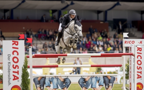 Lars Bak Anderson mit Carrasco - Foto: Stefan Lafrentz