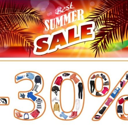 RidersDeal Summer Sale 30 % Zusatz-Rabatt
