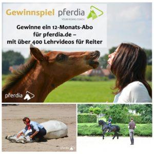 Jahresabo pferdia.de bei RidersDeal zu gewinnen