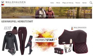 Waldhausen Gewinnspiel Herbststart