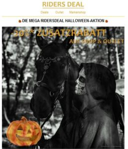RidersDeal Halloween-Aktion