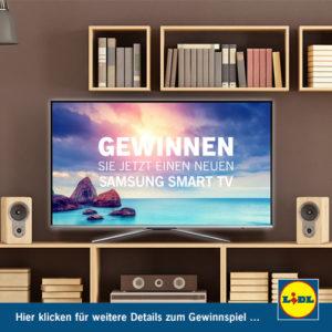 Lidl Gewinnspiel Samsung Smart TV