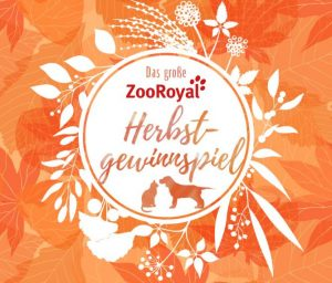 ZooRoyal Herbstgewinnspiel
