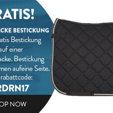 DIVOZA-Gutscheincode: Schabracke GRATIS besticken