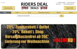 Black Friday Riders Deal