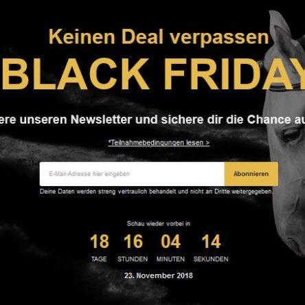 Gewinne einen 3.000 € Gutschein für deinen BLACK FRIDAY bei Horze