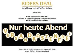 RidersDeal versandkostenfrei