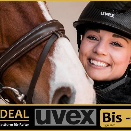 UVEX Reithelme & -handschuhe bei Riders Deal bis 60 % reduziert