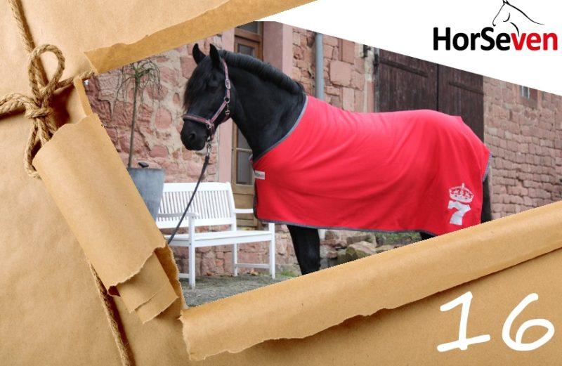 Abschwitzdecke HorseSeven im Adventskalender