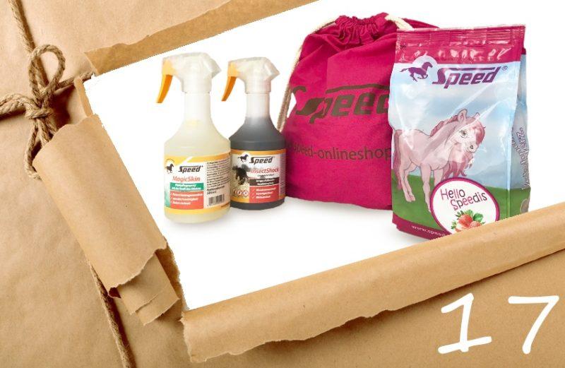 Speed Rucksack mit Produkten