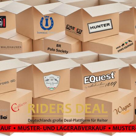 Großer Muster- und Lagerabverkauf bei RidersDeal