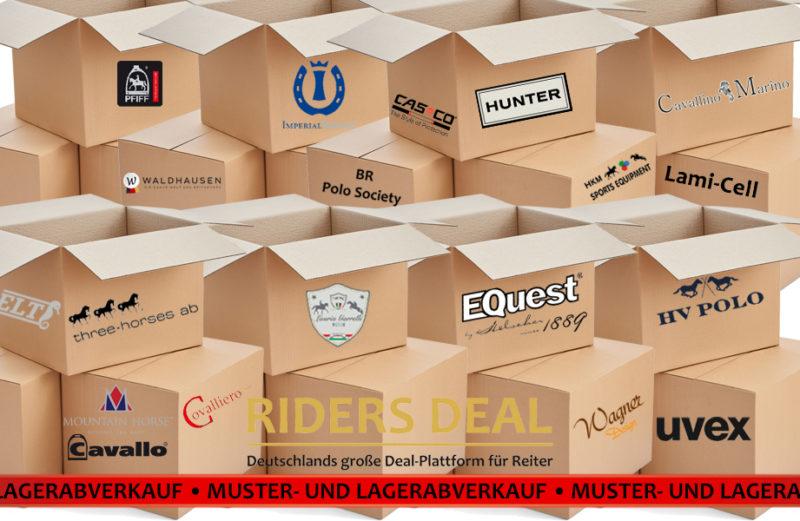 Muster-und Lagerabverkauf bei RidersDeal
