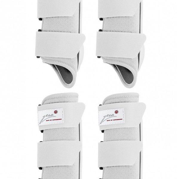 4er set schutzgamaschen airtex f r vorne und hinten wei. Black Bedroom Furniture Sets. Home Design Ideas